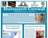 "Cornwall Wildife Trust - Rapport annuel 2013 du programme ""Shoresearch""."